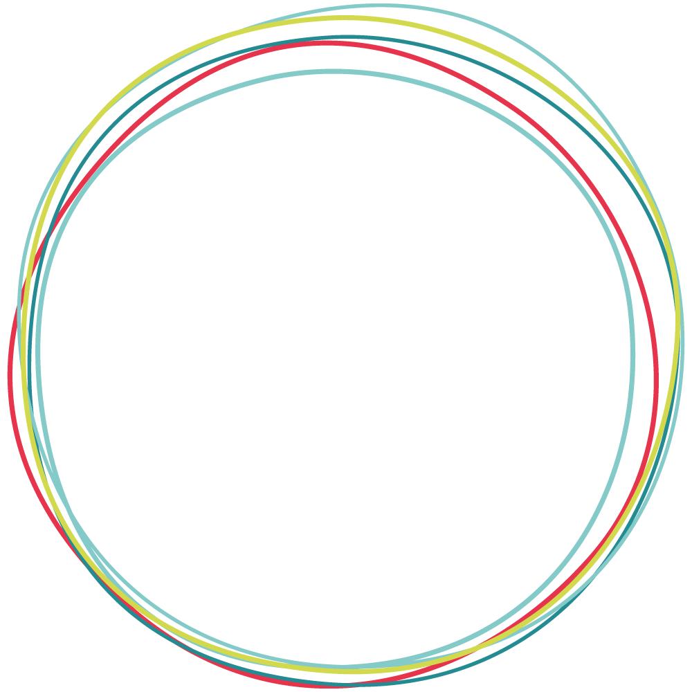 Illustration Hintergrund Ringe